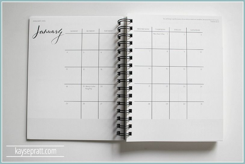 The Ultimate Planner Review :: 2016 Edition - Kayse Pratt
