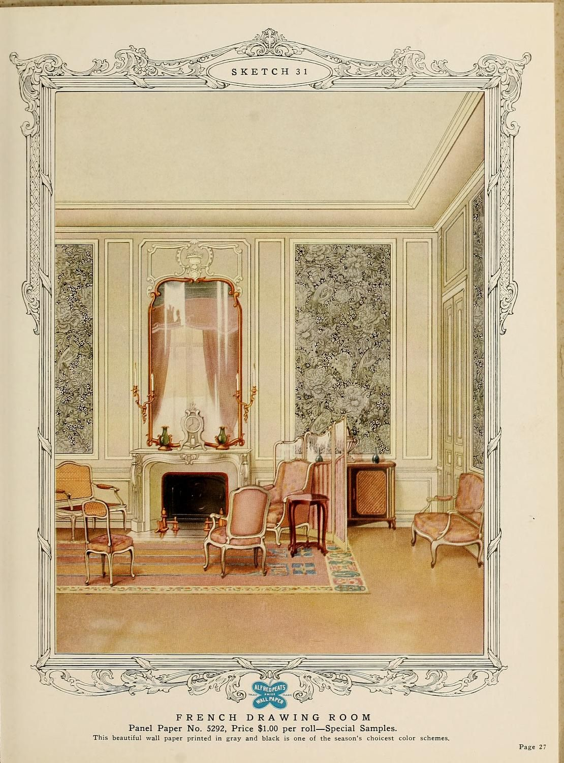 Interior Design Room Drawings Simple: The Sort Of Interior You Might Have