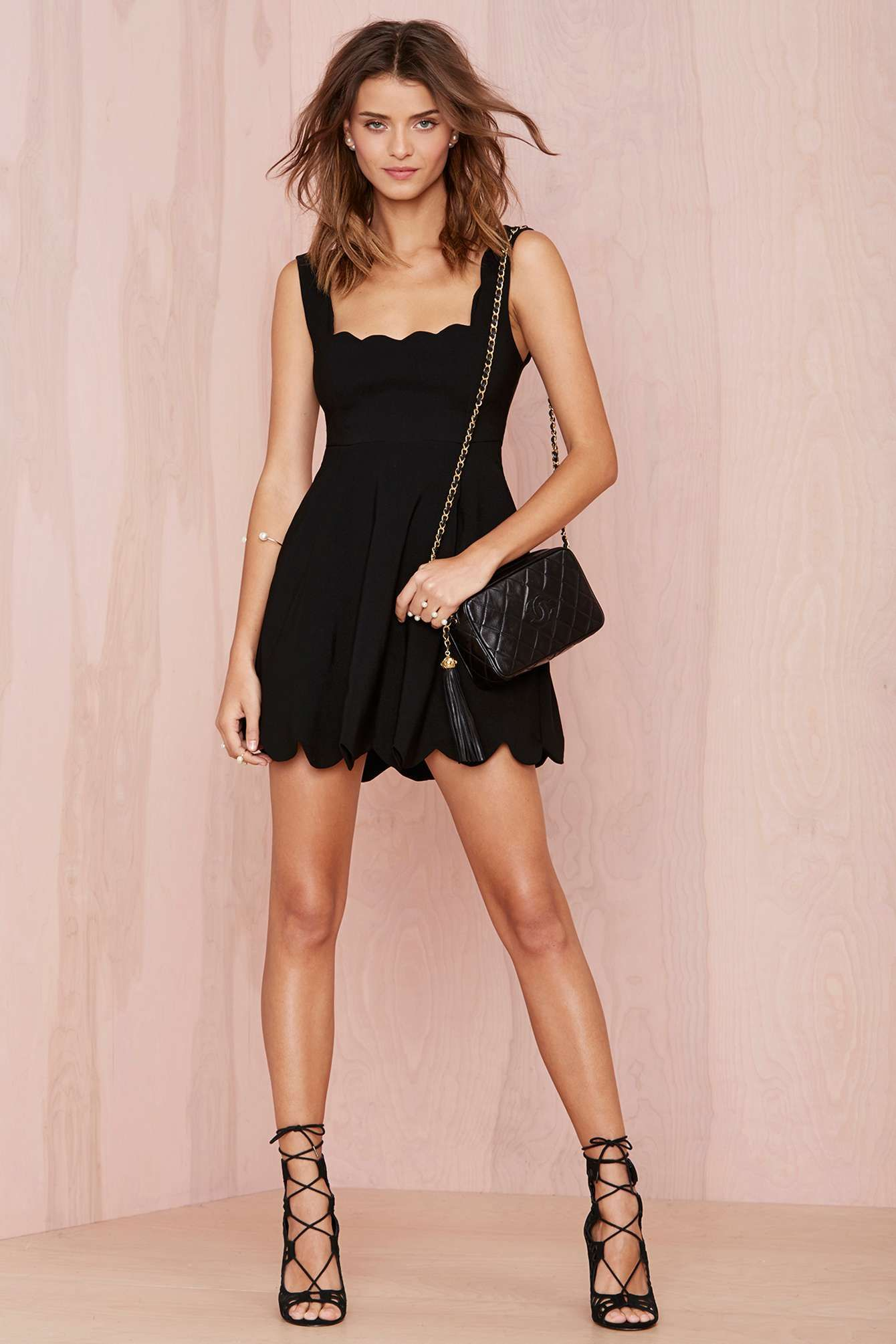 Black dress in summer - Nasty Gal I M Yours Dress Black Shop Dresses At Nasty Gal
