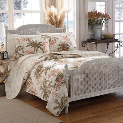 Tommy Bahama Home Bonny Cove Reversible Quilt Set By Tommy Bahama