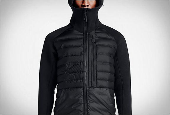 Mens Nike Tech Fleece Aeroloft Black Jacket
