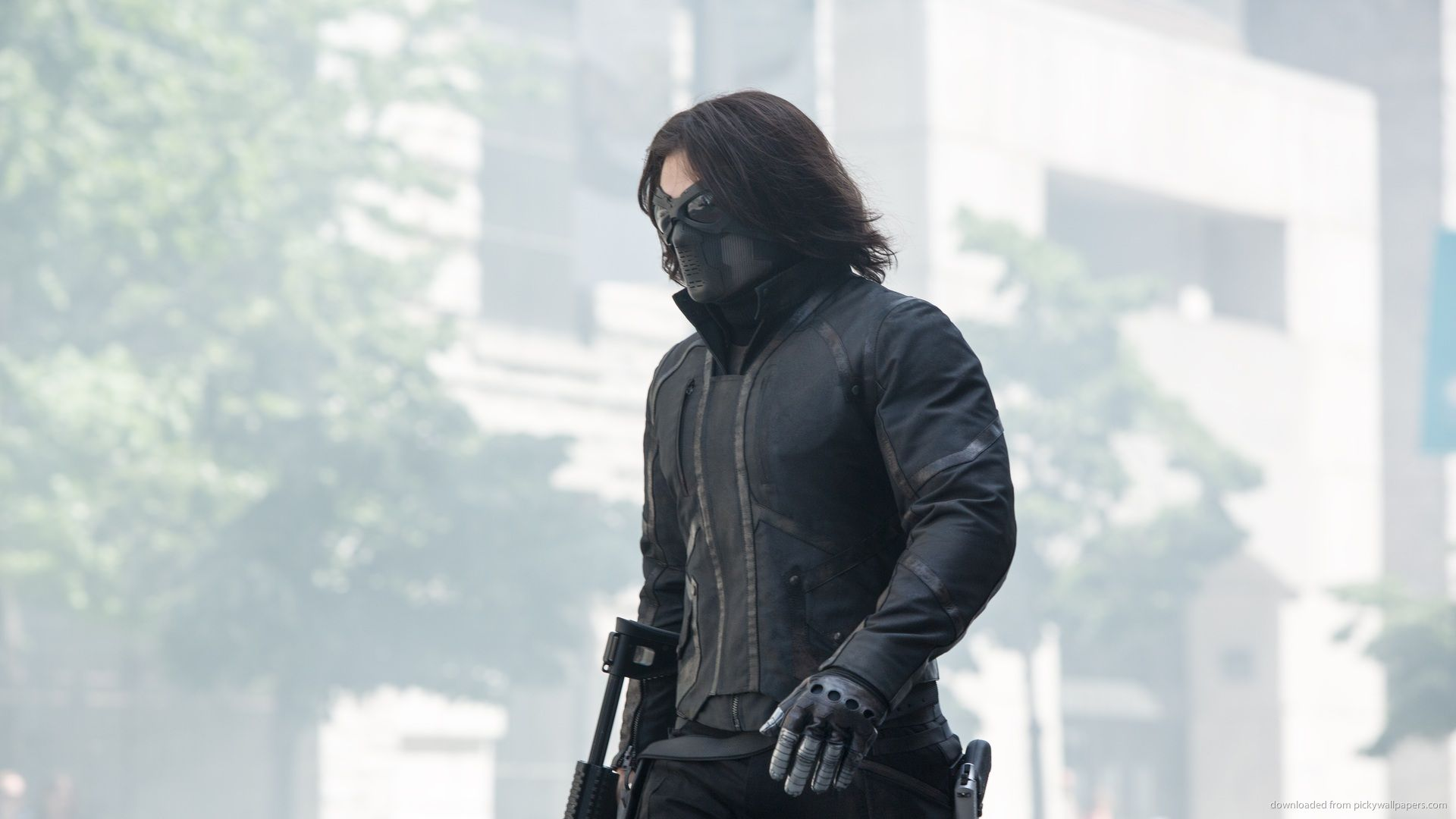 Captain America The Winter Soldier Bucky Barnes Leather ...
