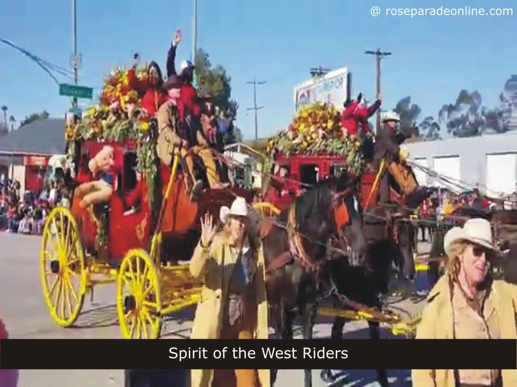 Spirit of the West Riders (Leona Valley, California) – Rose Parade ...