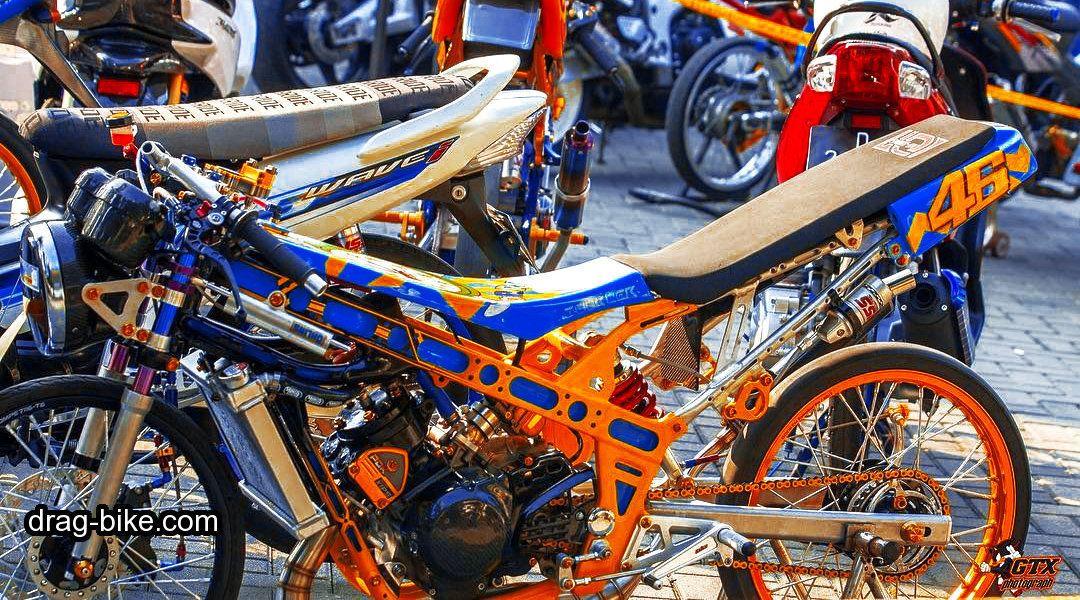 Foto Motor Drag Ninja Modifikasi Mothai Thailook Style Gambar