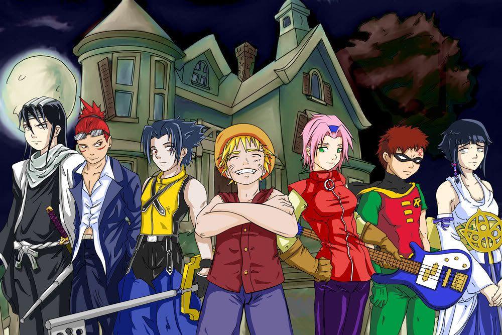Epic naruto halloween costumes anime crossover halloween