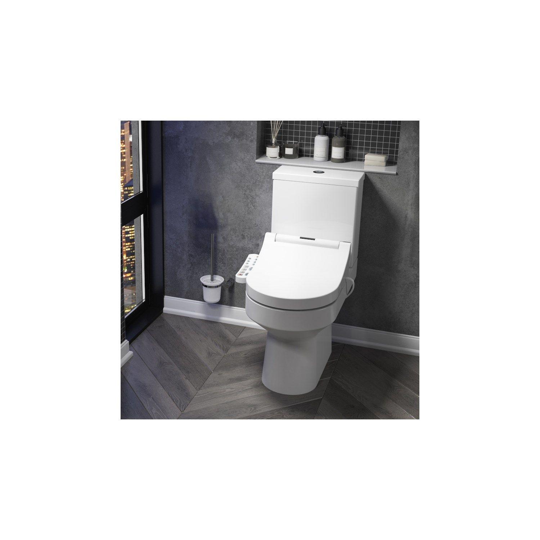 Smart Toilet With Adjustable Bidet Wash Function Heated Seat
