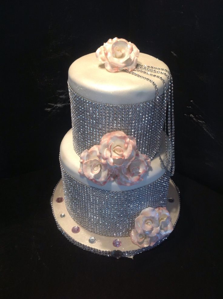 Bling Wedding Cakes Cupcake Cookies Cupcakes Elegant Chain Mail Betty Crocker Party Recipes Leona