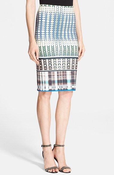 0cc8aff04d Clover Canyon 'Donegal' Print Pencil Skirt available at #Nordstrom ...