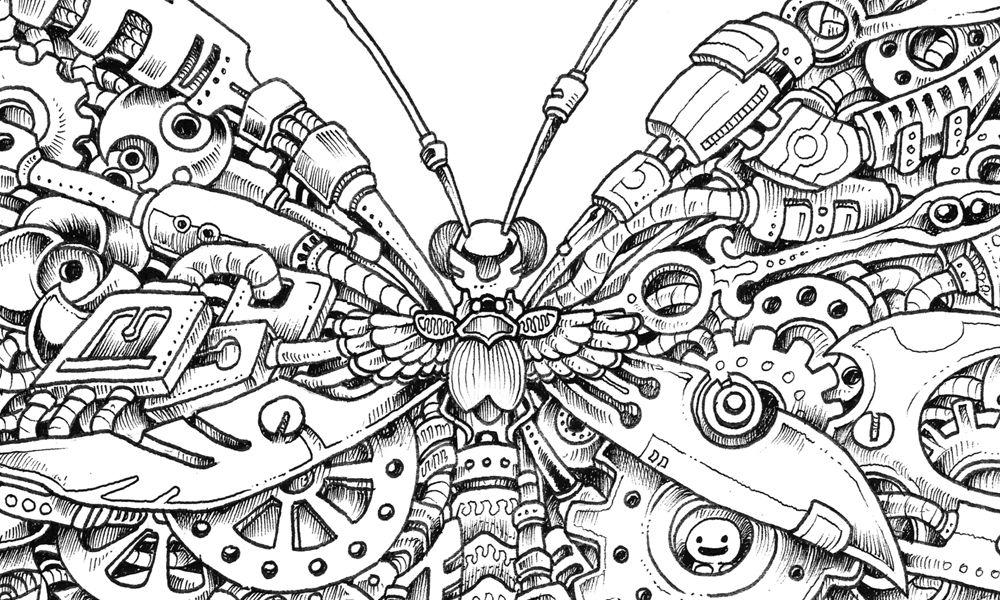 Kerby rosane 39 s imagimorphia free pattern download for Imagimorphia coloring pages