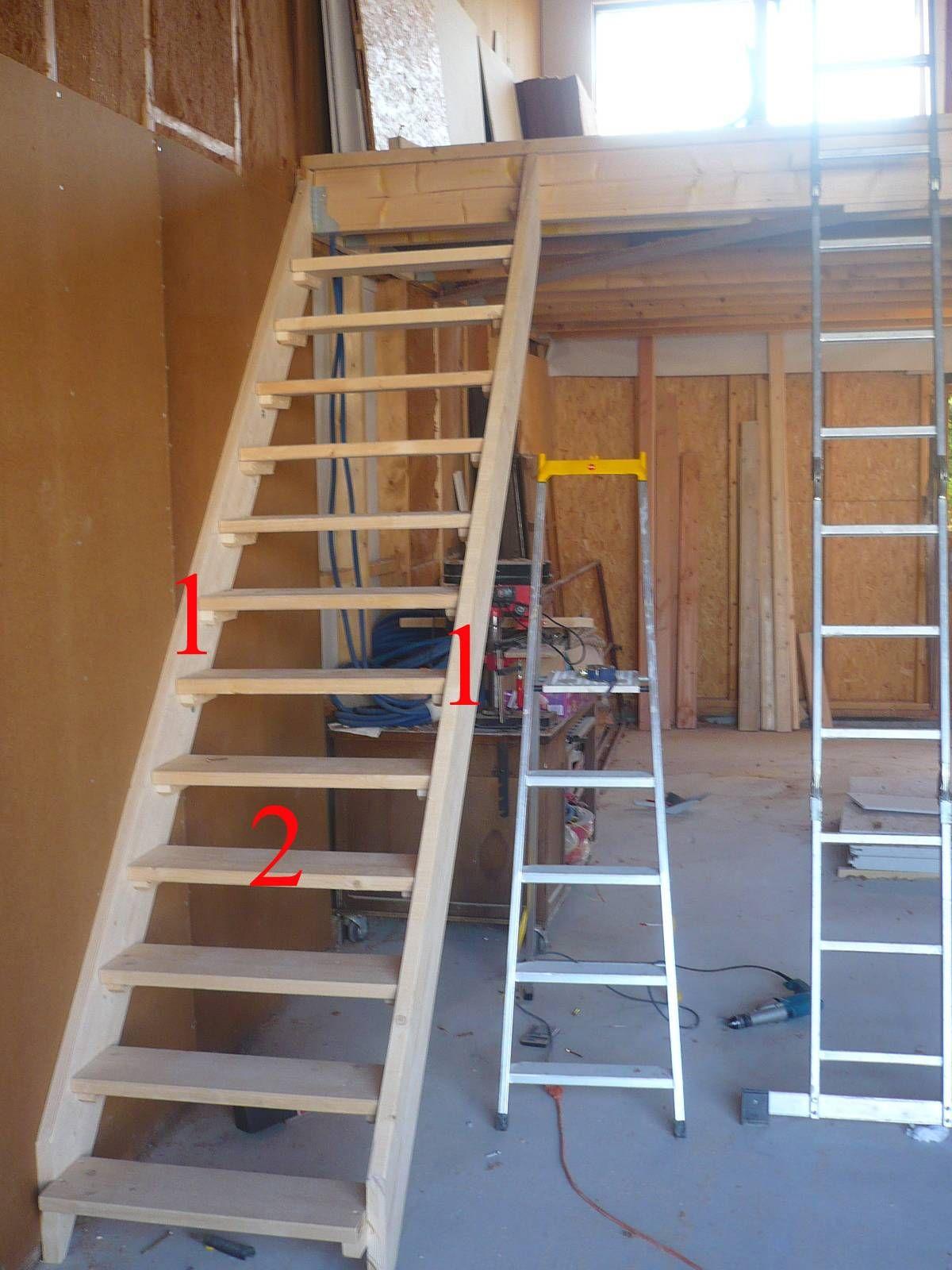 Escalier Droit Castorama Escalier Escamotable Avec Rampe Free