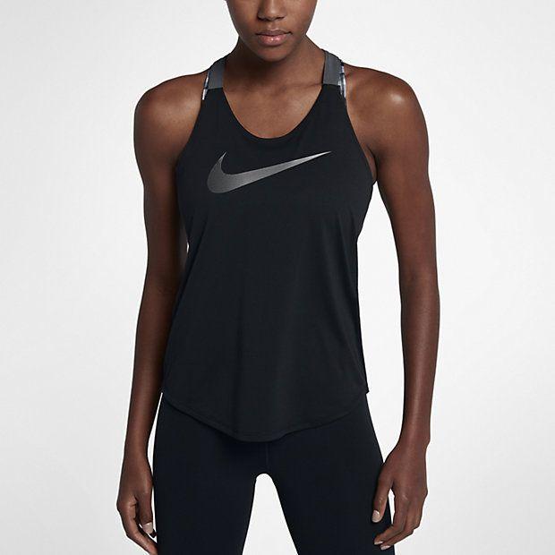 Camiseta de tirantes de entrenamiento para mujer Nike ...