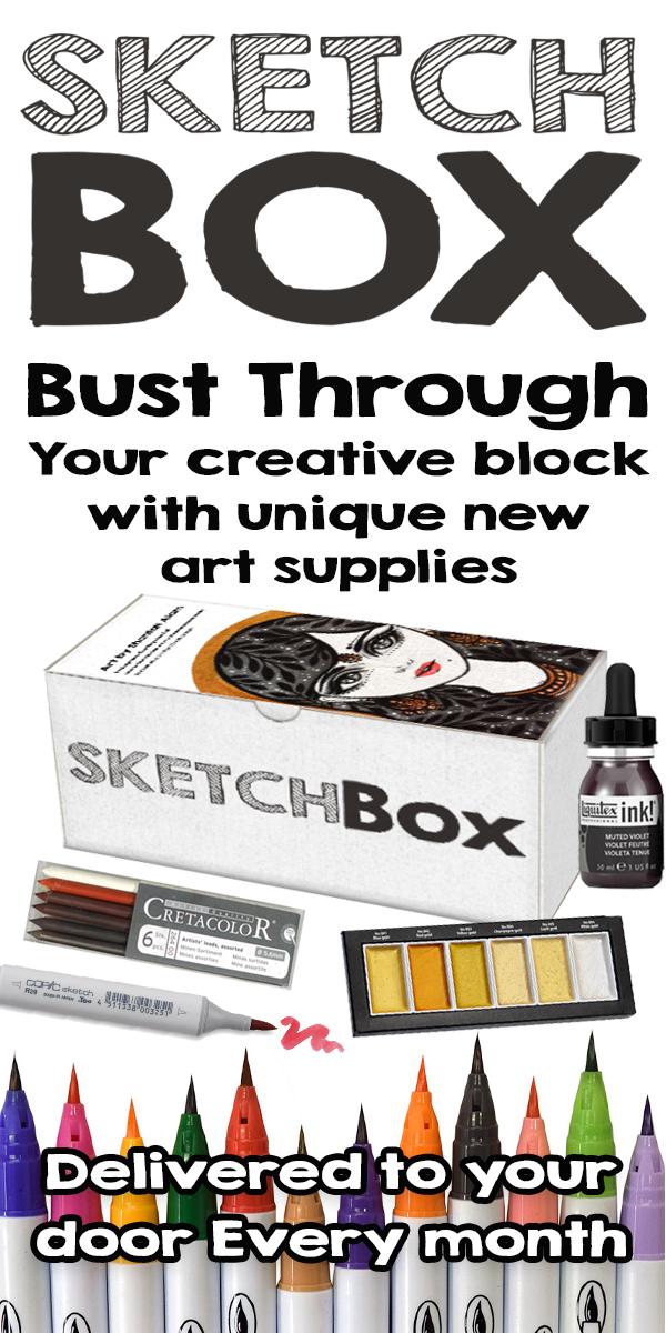 Sketchbox Past Boxes2 Html Sketch Box Unique Art Art Lessons