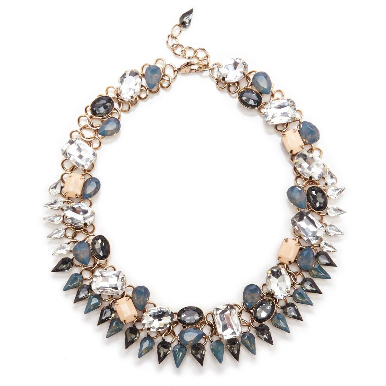 Sole Society Crystal And Stone Statement Collar | Sole Society Shoes, Bags and Accessories