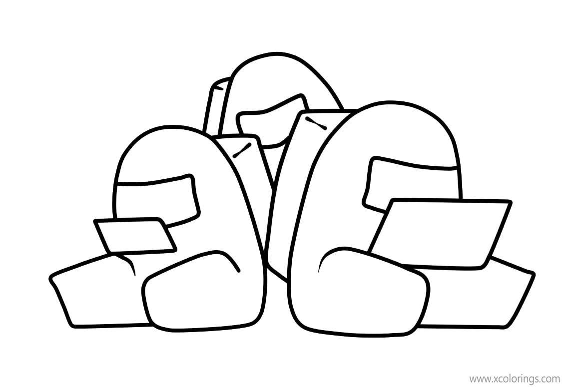 Traitors From Among Us Coloring Pages Coloring Pages Free Coloring Pages Color