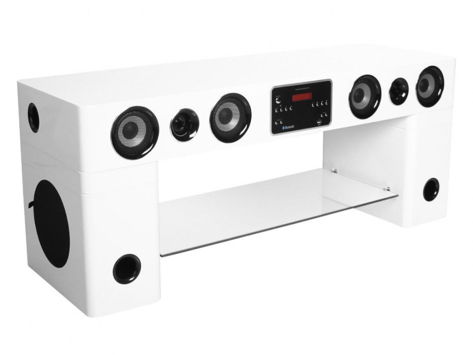 Meuble Tv Home Cinema Watts Ii Bluetooth Noir Ou Blanc Meuble Tv Home Cinema Meuble Tv Home Cinema