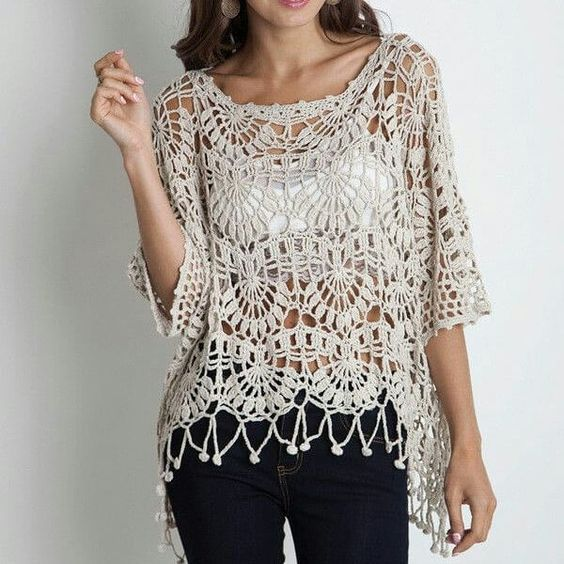 Crochet Tunic + Diagrams