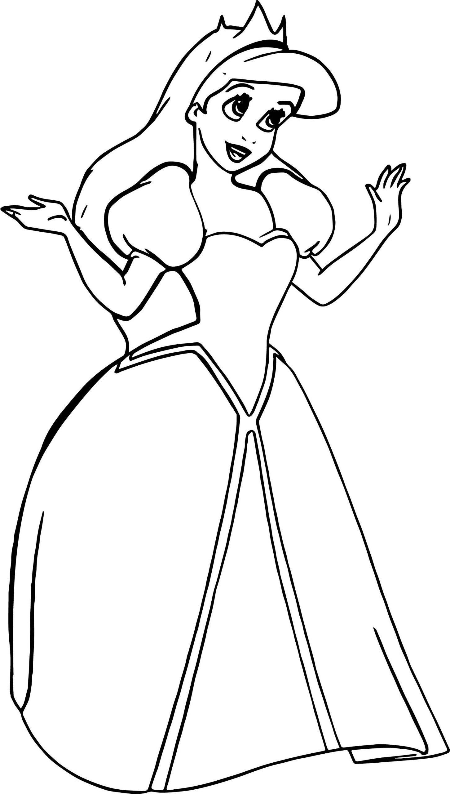 Coloring Pages For Kids Ariel Ariel Coloring Pages In 2020 Ariel Coloring Pages Disney Princess Coloring Pages Disney Princess Colors