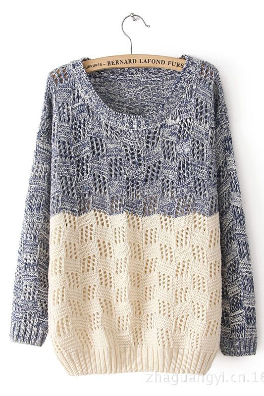 Two tone sweater // I want thisssss