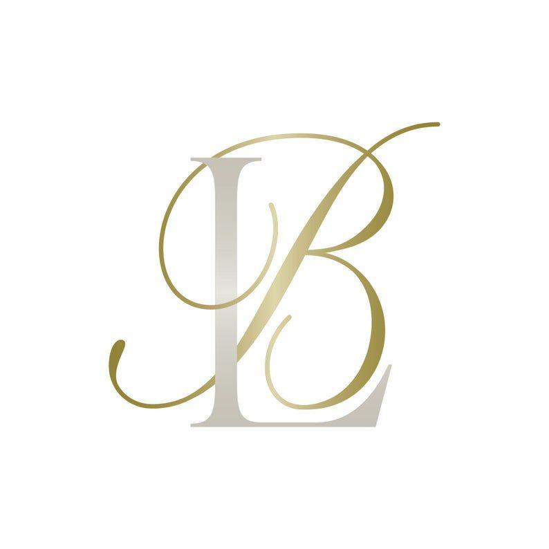 Pin Em Elegantquill Com Wedding Monogram Logo Design