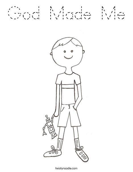 B Is For Boy Coloring Page Manualidades Bordado Dibujos