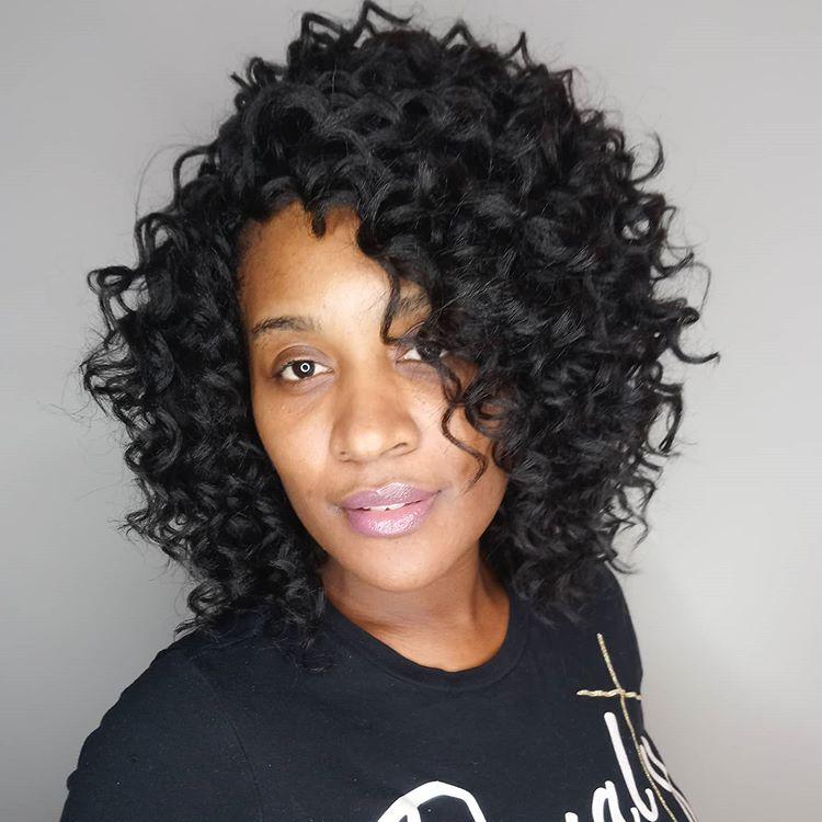 Harlem 125 Kima Braid Synthetic Hair Crochet Ripple Deep 20 In 2020 Curly Crochet Hair Styles Crochet Braids Hairstyles Curls Body Wave Weave Hairstyles