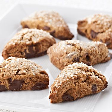 Ghirardelli Baking: Bittersweet Chocolate Gingerbread Scones Recipe