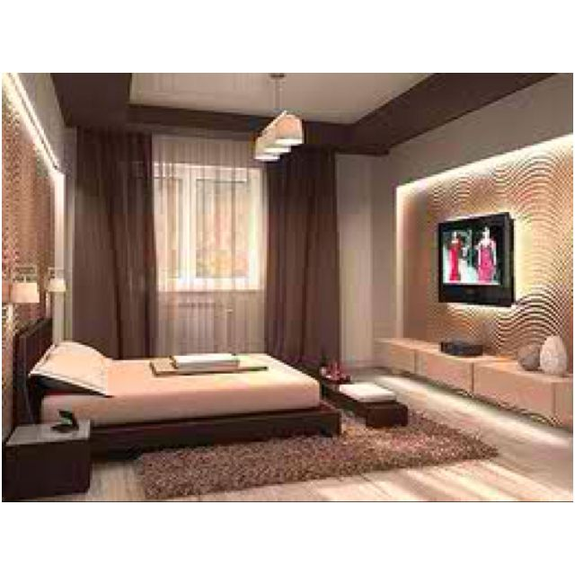 Man Bedroom In Chocolate & Peanut Butter