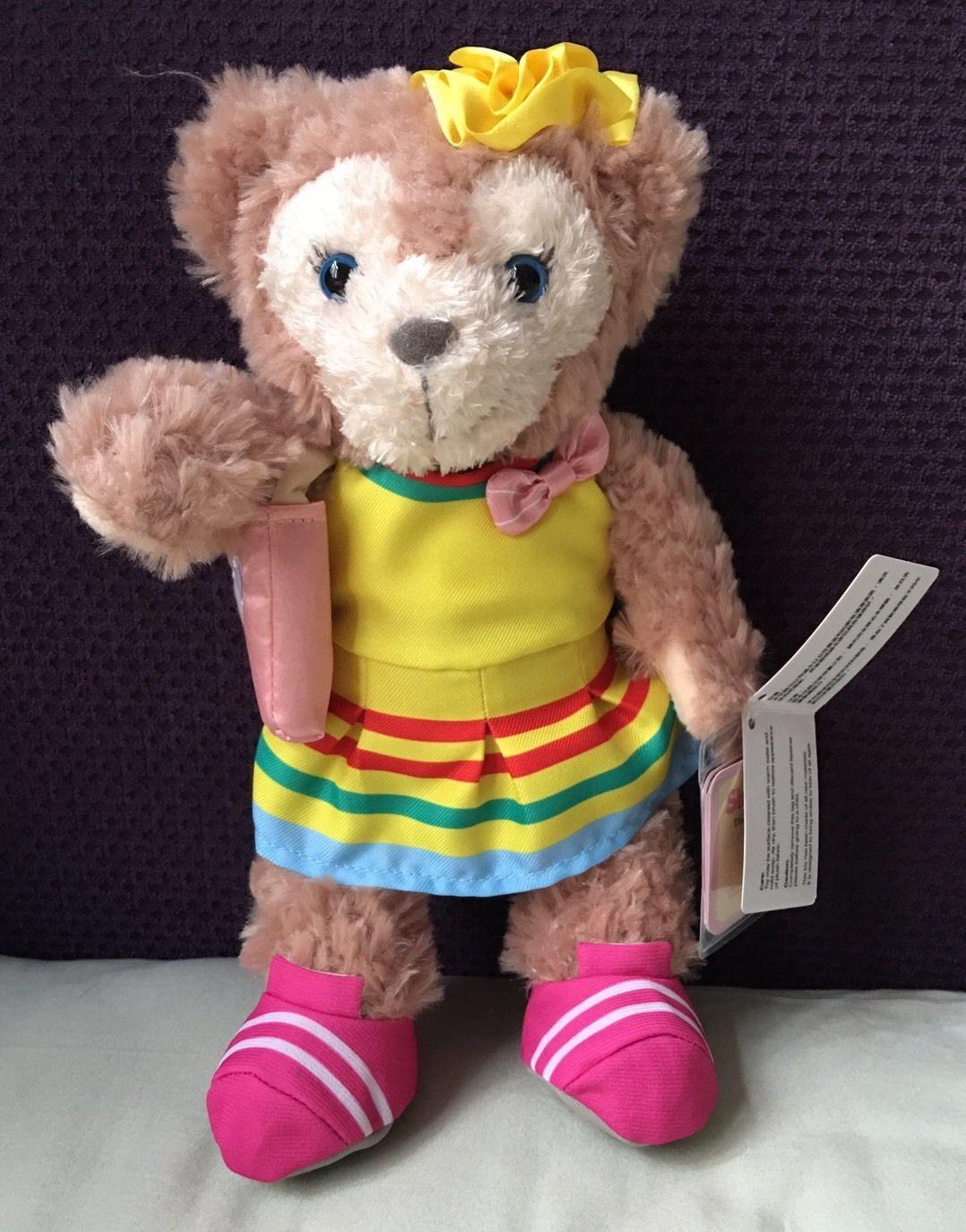 "HKDL Hong Kong Disney 2017 Summer Shelliemay Plush 9"" Duffy Gelatoni | eBay"
