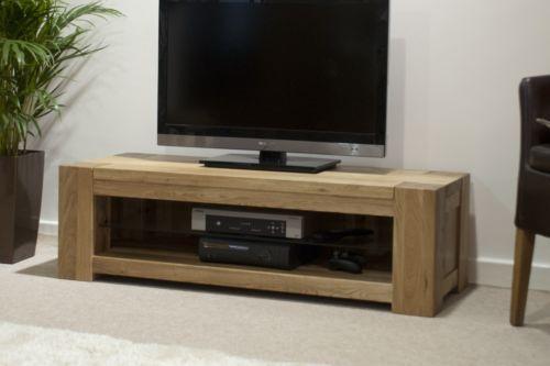 info for 8924a 53d86 Details about Pemberton solid modern oak furniture plasma ...