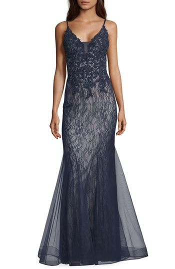 287ca151 Xscape Sparkling Lace Mermaid Evening Dress in 2019 | Most Stylish ...