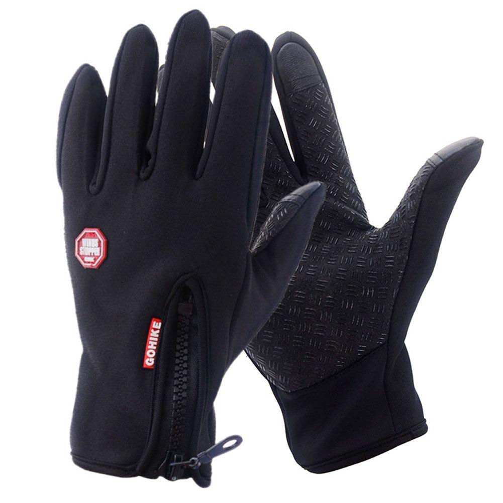 Full Finger Phone Glove Winter Ski Gloves Fleece Thermal Warm Bike Sport Gloves Motorcycle Bicycle Equipment S Sports Gloves Winter Gloves Women Cycling Gloves