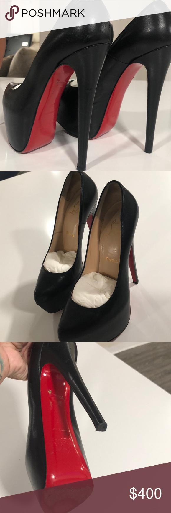 929b4226c45 Christian Louboutin Shoes   Authentic Louboutins   Color: Black ...
