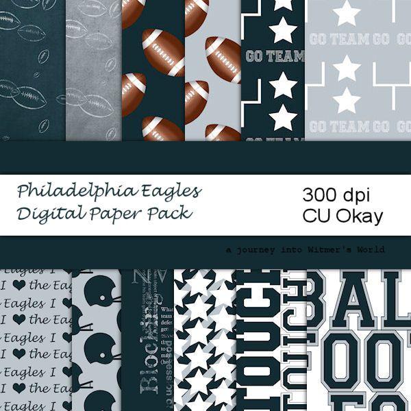 Download Football Digital Paper NFL Philadelphia Eagles for Digital ...
