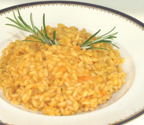 Kürbisrisotto mit Rosmarin und Pecorino - Rezept