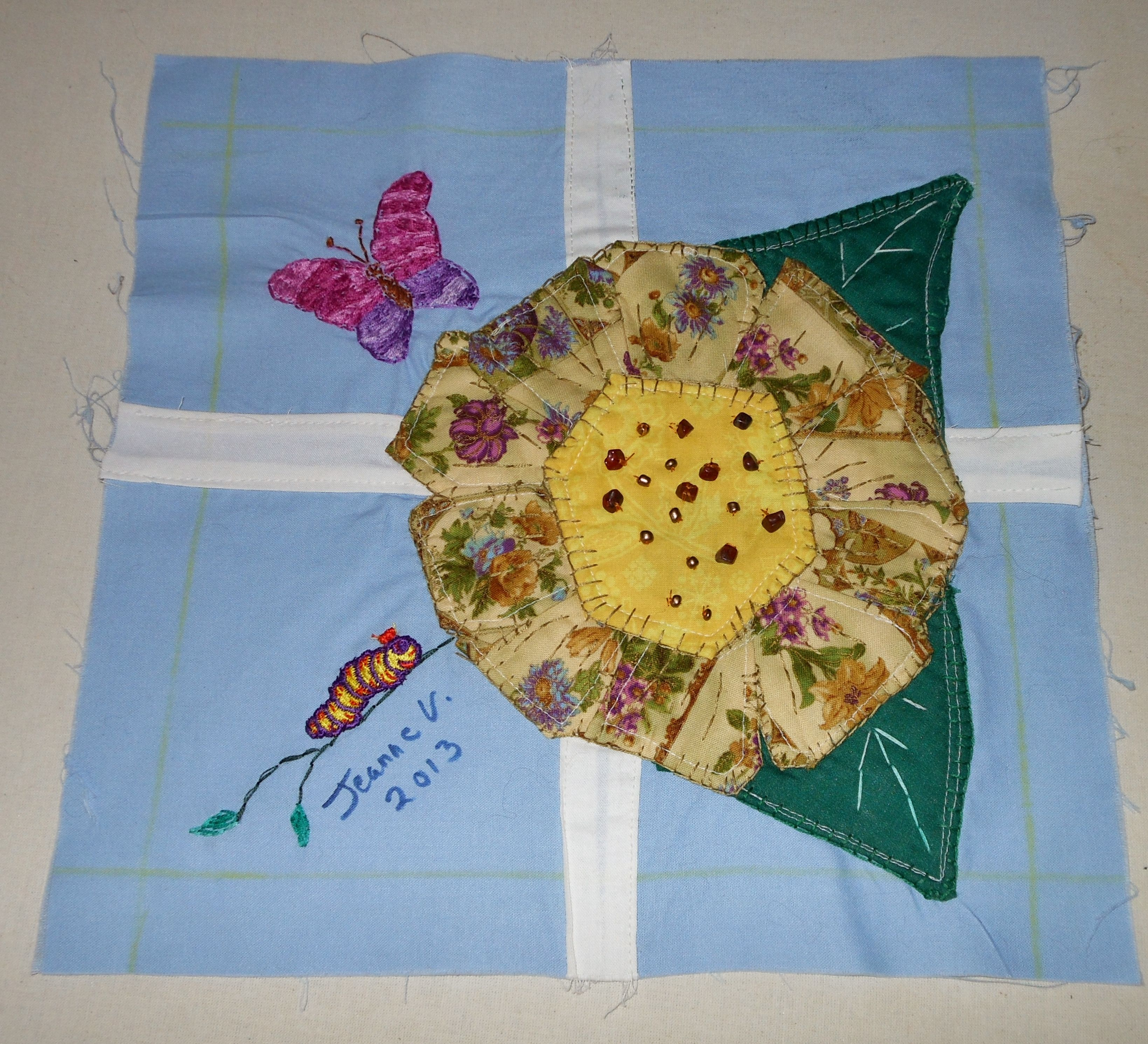 how to make a butterfly quilt