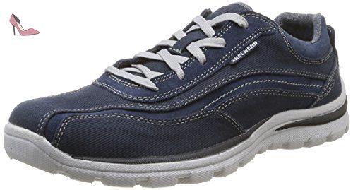 Skechers De Homme 46 Monavo nvy Ville Chaussures Bleu Superior xTTtBH