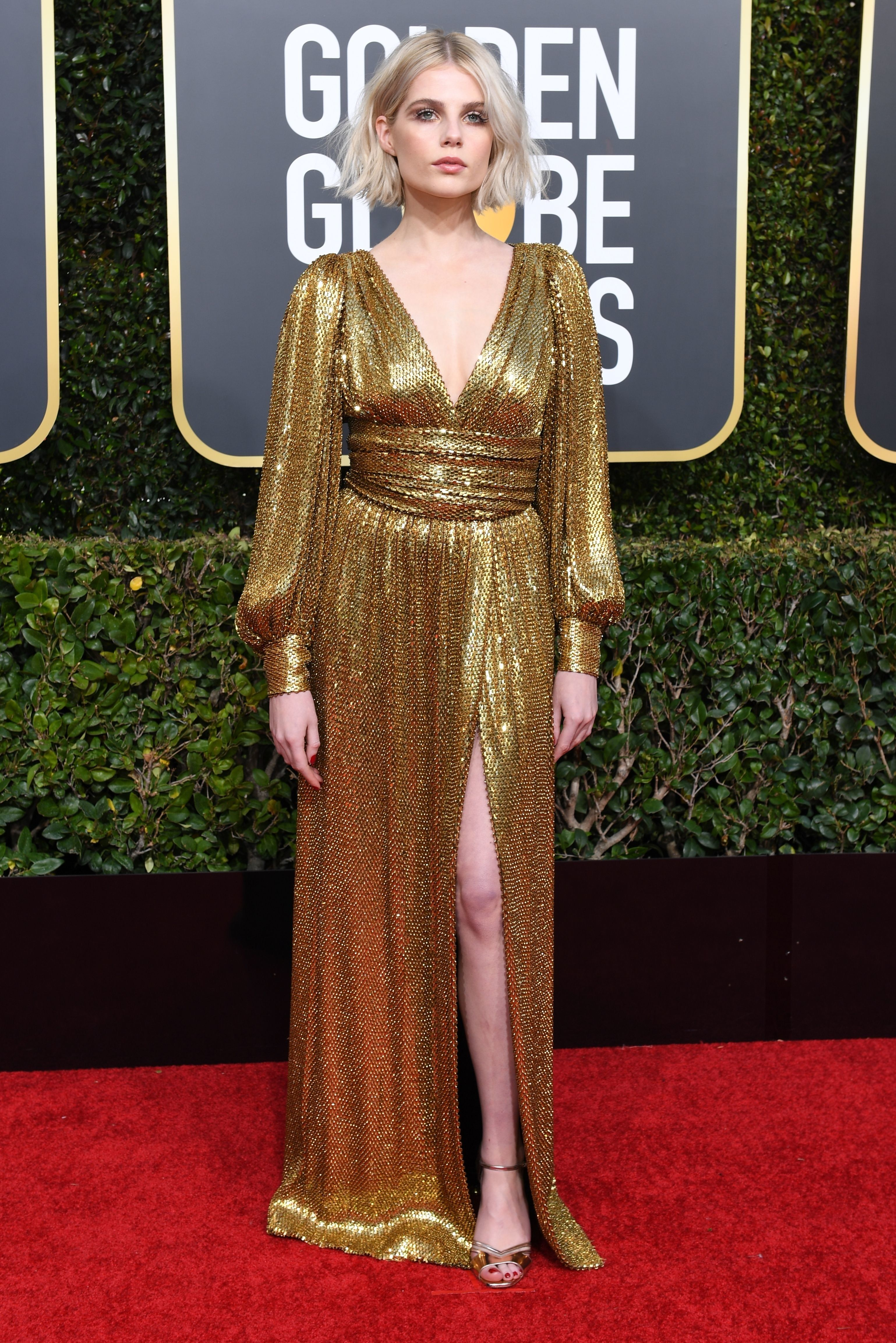 932a3f84faef Why Are Actors Wearing Black and White Bracelets at the Golden Globes  Red  Carpet Looks