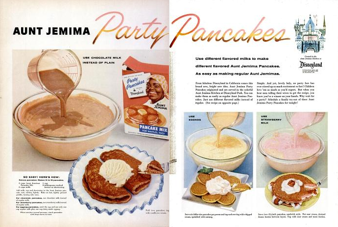 Aunt Jemima Pancake Recipe Use Different Flavored Milks For Your