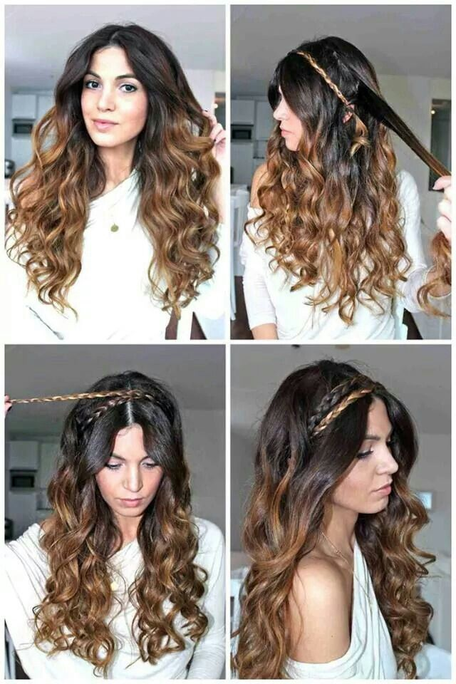 Greek goddess inspired hairstyle  30ee17bb67b5