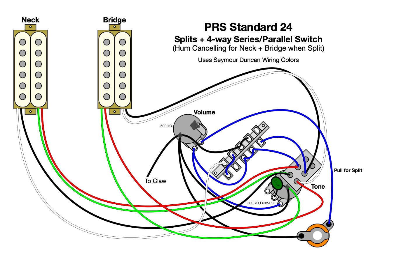 The Best 12 Prs 22 Custom Wiring Diagram Technique   S
