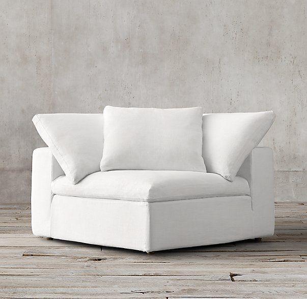 Petite Cloud Modular Corner Chair Corner Chair