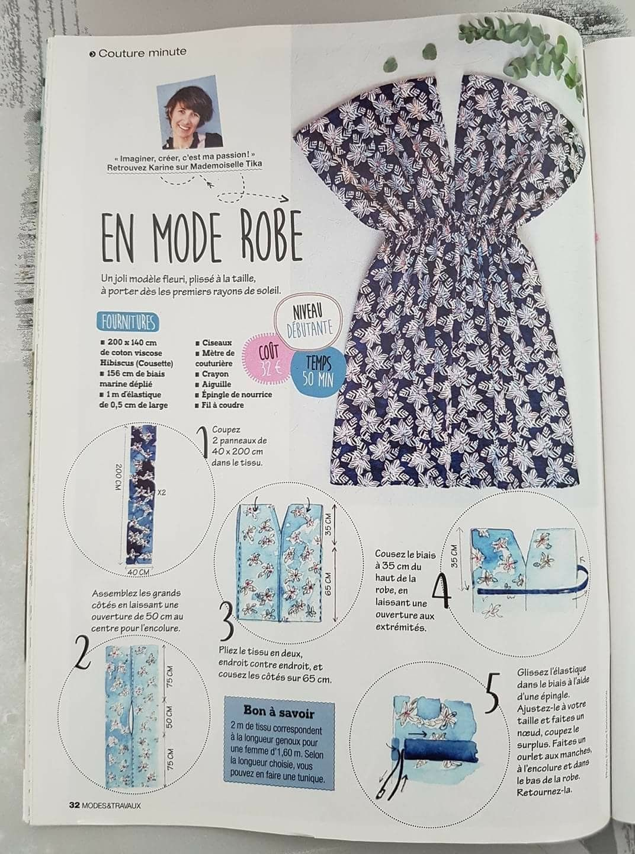 Patroon en minuut jurk tutorial