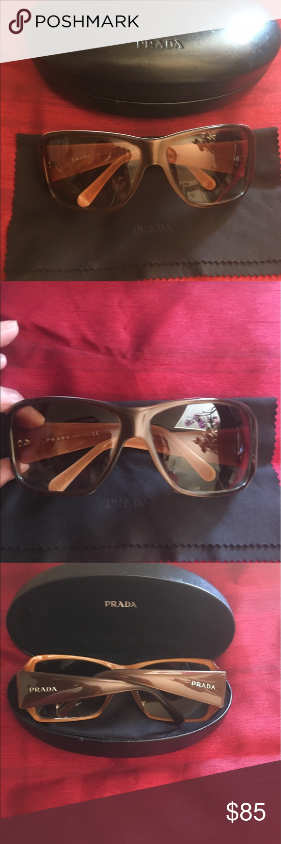 c13db96d337e ... gradient lens. boxed 6b203 a5f16  where can i buy prada vintage sunglasses  prada sunglasses logos on the sides and has a