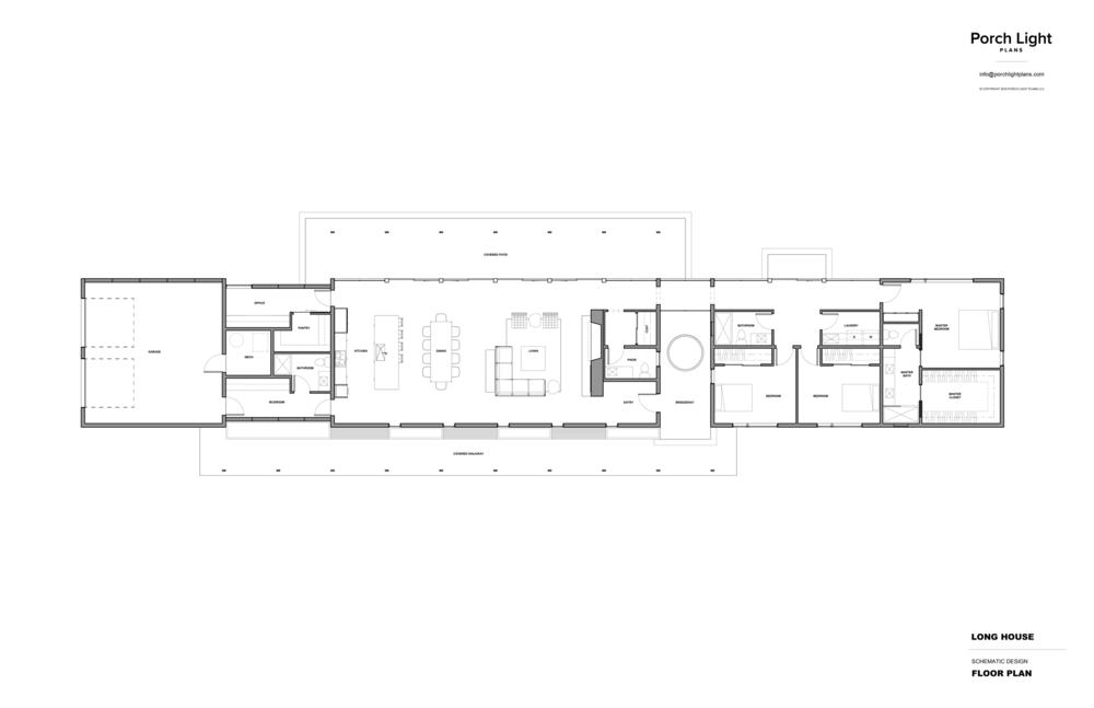 Shop House Plans Porch Light Plans Plans Long House House Plans Tiny House Floor Plans