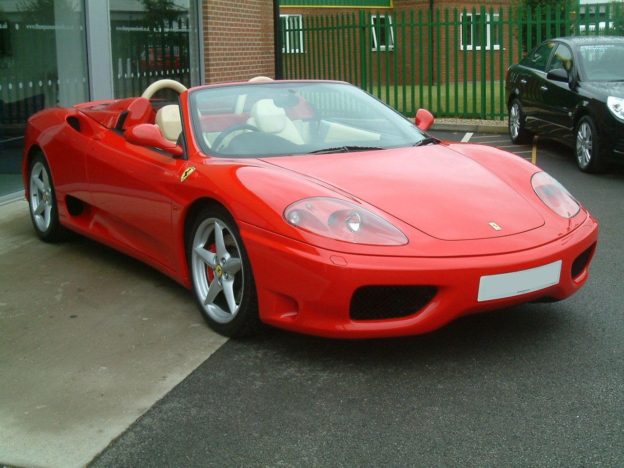 2004 Ferrari 360 Spider Manual At Www Woldsideclassics Co Uk With