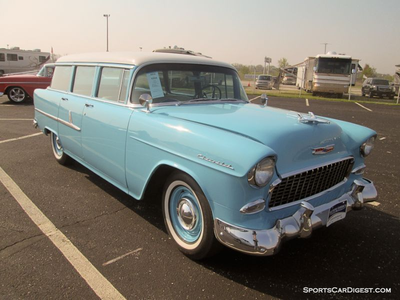 Auctions America Auburn Spring 2015 Auction Report Station Wagon Station Wagon Cars 55 Chevy