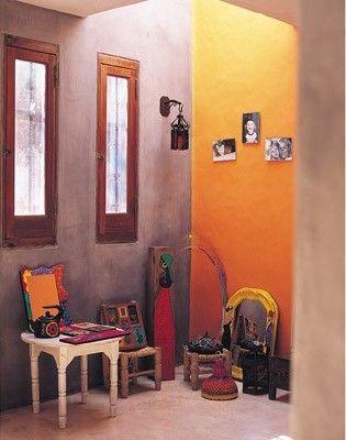Una casa con estilo mexicano decoracion dise o estilo for Decoracion de casas rusticas mexicanas