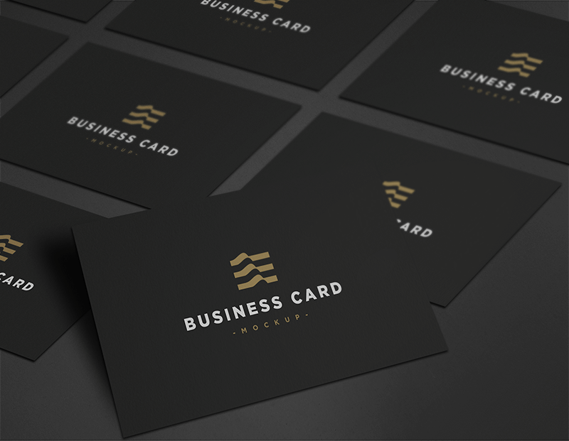 Business Card Mockup PSD | Mockup, Awesome business cards and ...