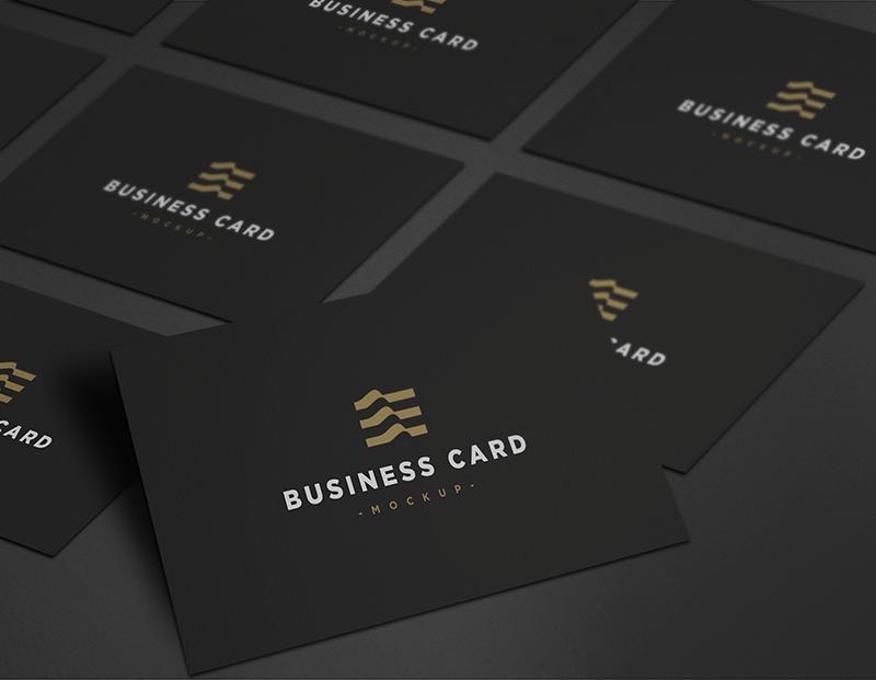 Business Card Mockup PSD | Pinterest | Elegant business cards ...