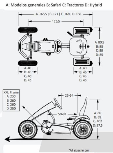 Kart pedales eléctrico berg extra sport red e-bfr - be07.45.12.00 /berg | Pedal cars, Go kart, Bike pedals